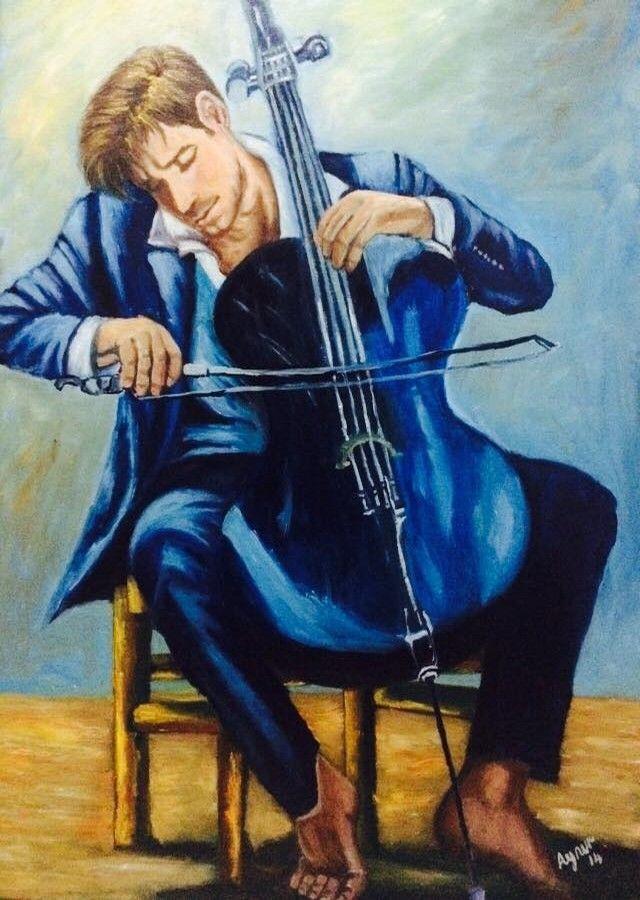 enstrüman to play oil painting