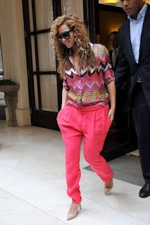 Biographie de la petite idiote: Outfit Of The Day of Beyonce
