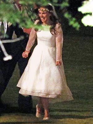 Natalie Portman's Rodarte wedding gown! http://stylenews.peoplestylewatch.com/2012/08/06/natalie-portman-wedding-dress-photo/#
