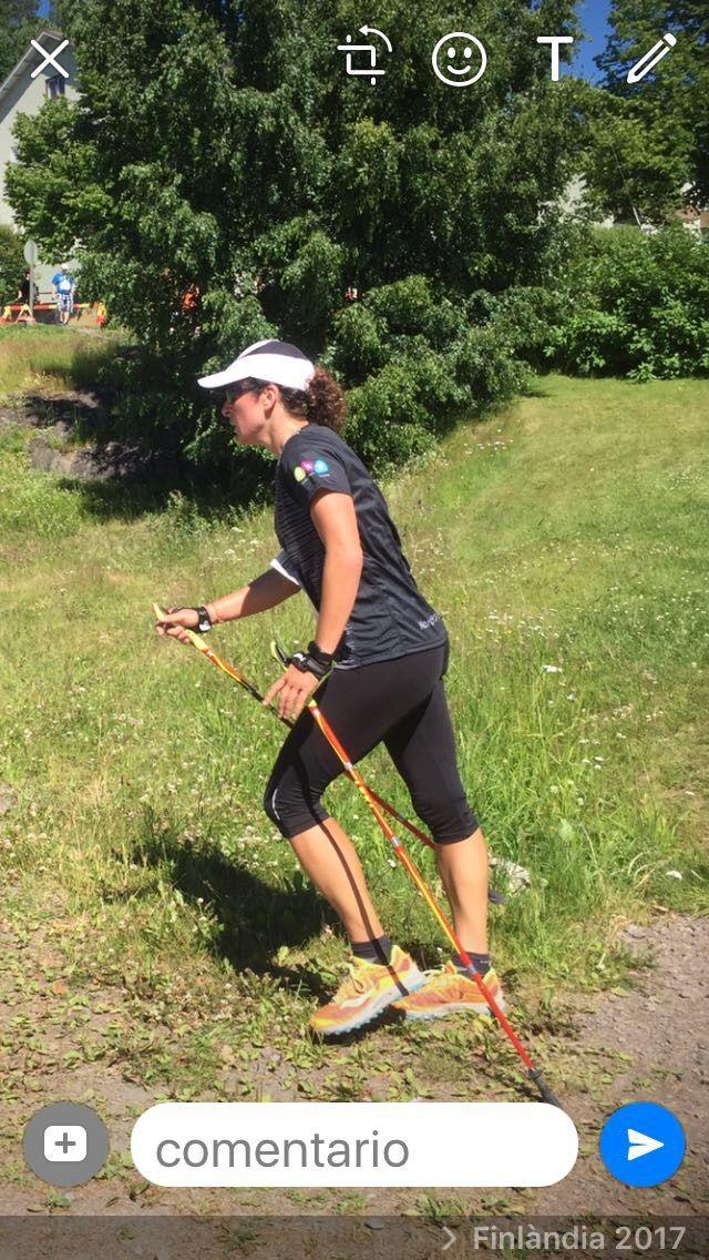 Nordic Walking in Finland.