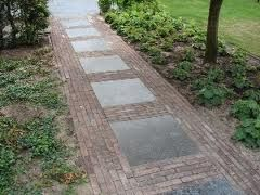 17 best images about oprit on pinterest gardens language and brick pavers - Lay outs oud huis ...