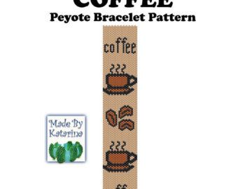 Peyote Pattern Double Happiness INSTANT by MadeByKatarina