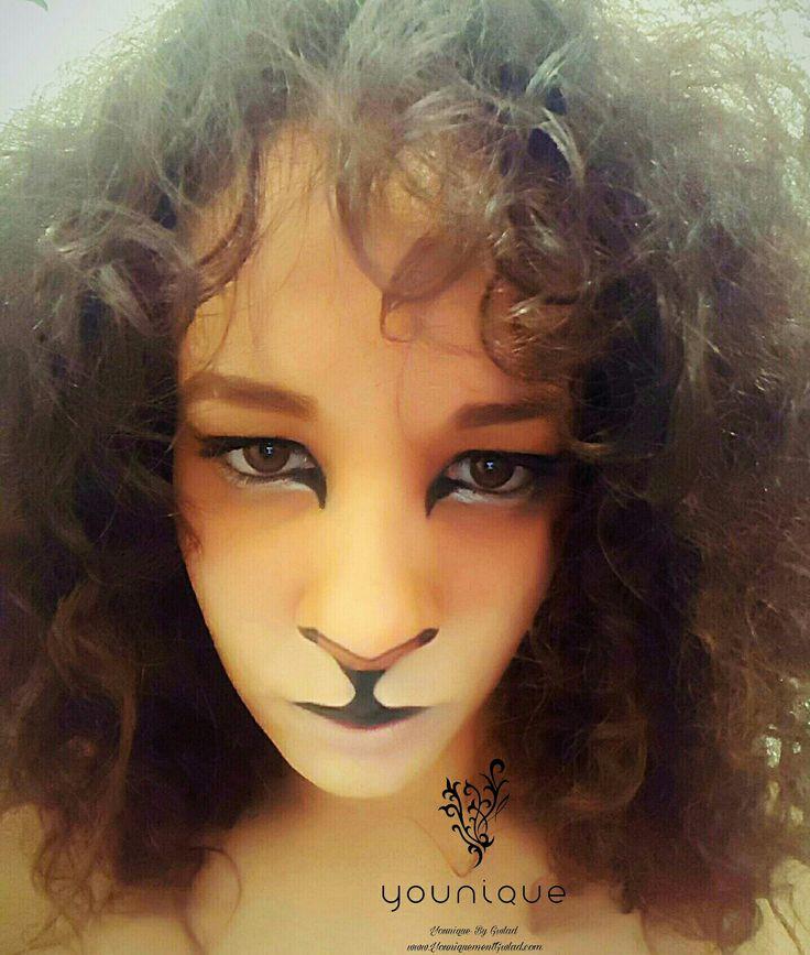 Super Les 25 meilleures idées de la catégorie Maquillage lion sur  PZ03