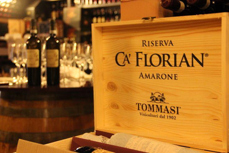 Riserva Cà Florian #Amarone #Tommasiwine #BottegadelGusto #VillaQuaranta www.villaquaranta.com