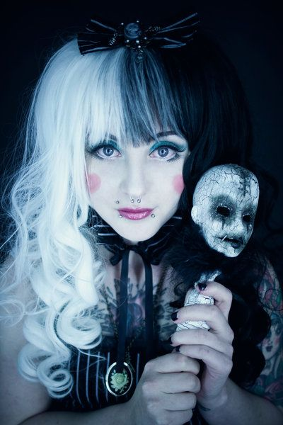 Gothic dead dolly.