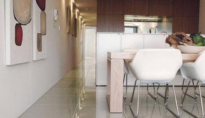 Pietre Rare series: four different surfaces (natural, polished, satin and bush hammered) and six colours. www.casalgrandepadana.it #CasalgrandePadana #architecture #design #interiordesign #ceramics