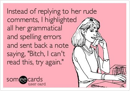 Bahaha yep! This is so me!