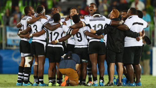 There were incredible scenes across Fiji on Friday as their men's rugby sevens team steamrolled Great Britain to clinch the island nation's first ever Olympic medal, and a gold one at that.