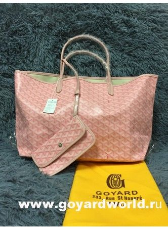 How to get repica goyard tote online?Goyard Saint Louis Tote GM Bag Pink