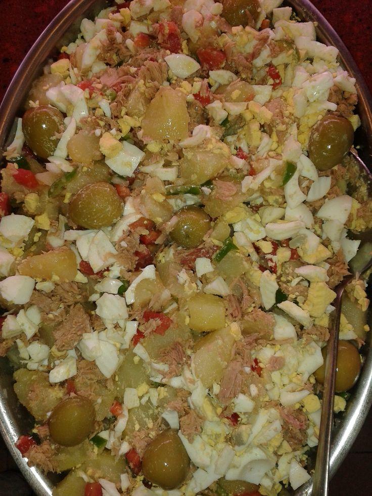 Ensalada de patata de verano