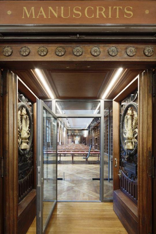 Bibliothèque Nationale de France in Paris