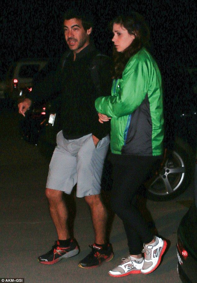 Date night: Zooey Deschanel and boyfriend Jacob Pechenik went out on their first date, a d...