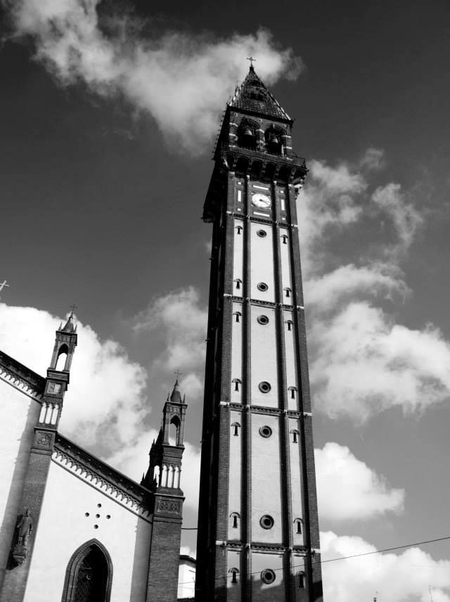 Mede Lomellina, il #campanile. Pic: Martina Padovan #Lomellina #paesaggi #turismo
