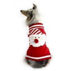 Kersttrui Mopshond.Je Trouwe Viervoeter Hoeft Het Komend Winterseizoen Niet Koud Te