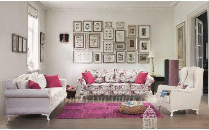 Baharın cıvıl cıvıl renkleri artık evinizde #mobilya #inegöl #dekorasyon #modern #tasarım #koltuk #oda #ceviz #yaşam #ev #takım #armchair #chester #kapitone #country #pembe
