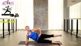 Pilates Hip Opening and Glute Strengthening - Nikki Webster - Move 123
