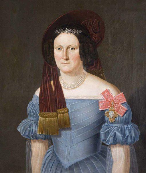 Баронесса Екатерина Вильгельмина Пален, урожденная Арвелиус (1800—1869)