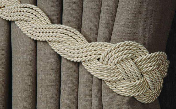 handmade tassel  Idée tresse à faire aux couleurs tapis