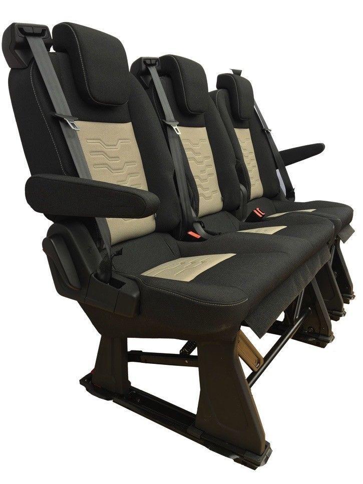 Wondrous Ford Custom Transit Triple Bench Seat Armrest Recline Pabps2019 Chair Design Images Pabps2019Com