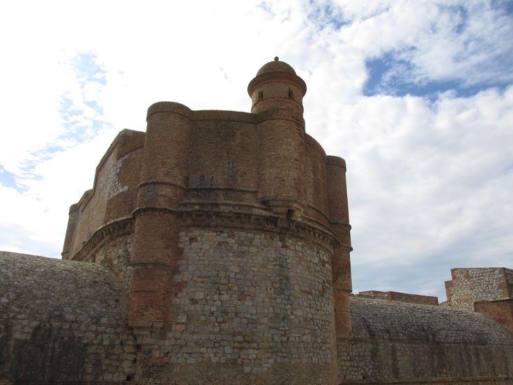 Fort de Salses in Salses-le-Château, Languedoc-Roussillon