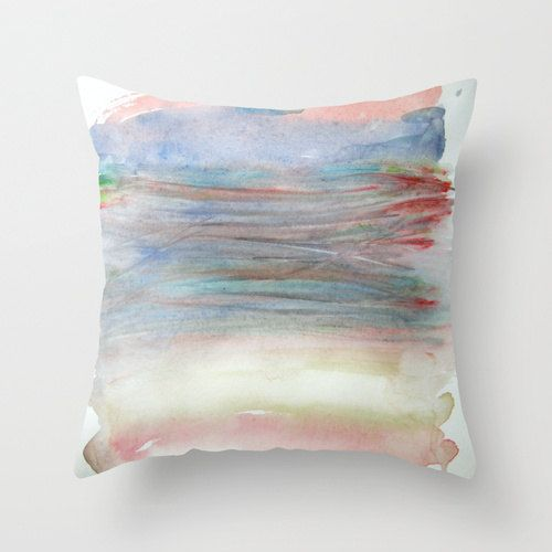 Pastels in a Bundle Throw pillow Decoative pillow by studioRS