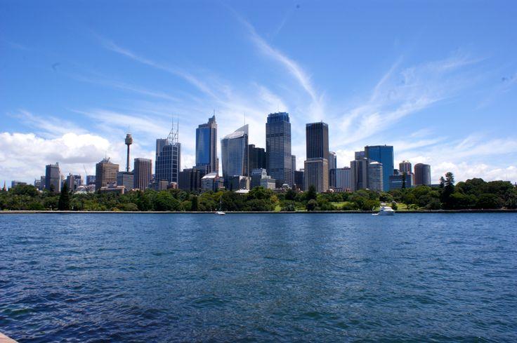 Le CBD (Central Business District) de Sydney.