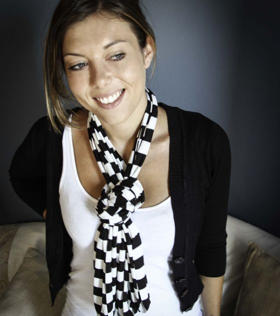 Stunning, versatile T-Shirt Necklace / Scarf to be worn in so many ways. Shop now @ www.wave2africa.com