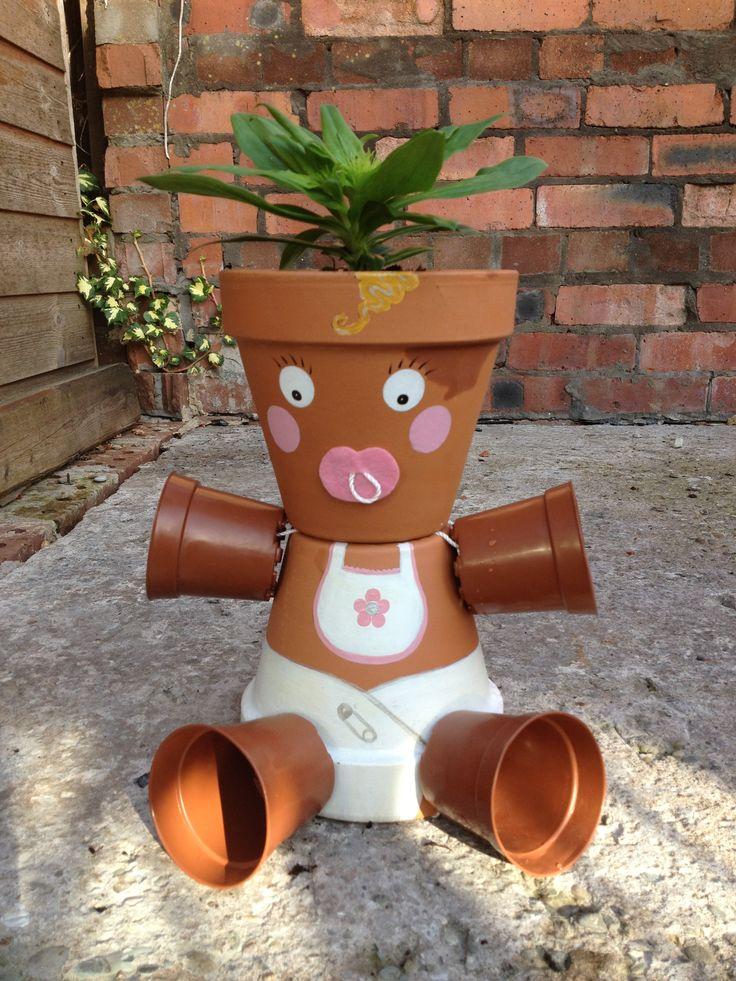 1013 best images about flower pot crafts on pinterest - Macetas de terracota ...