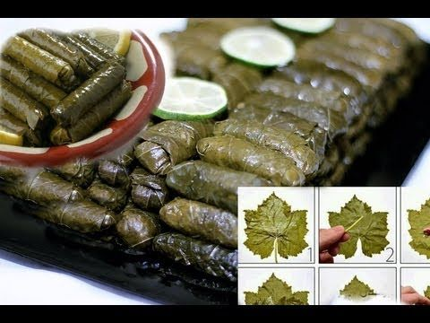 Arabic Recipe #12 -Stuffed Grape Leaves ورق عنب