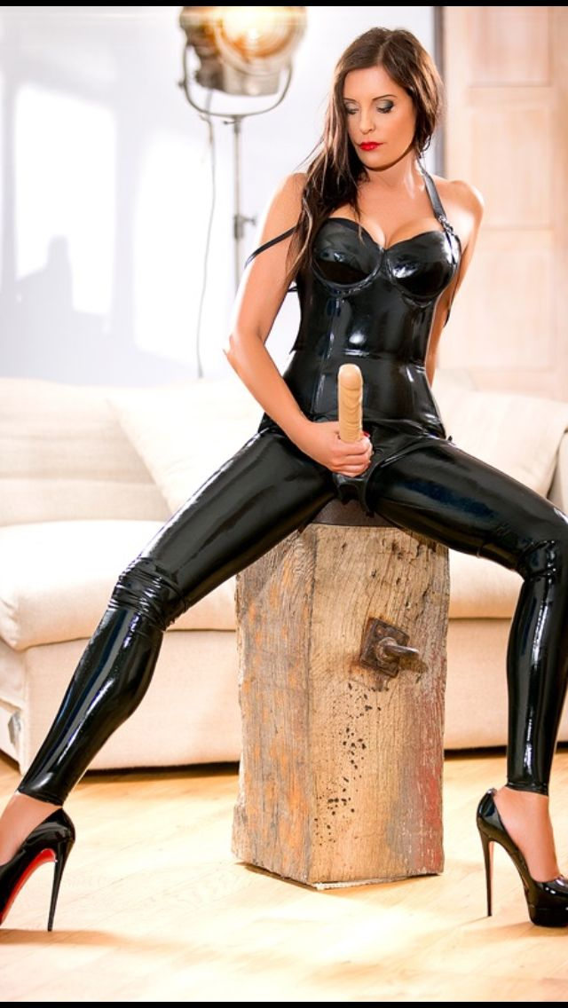 Teen latex asian