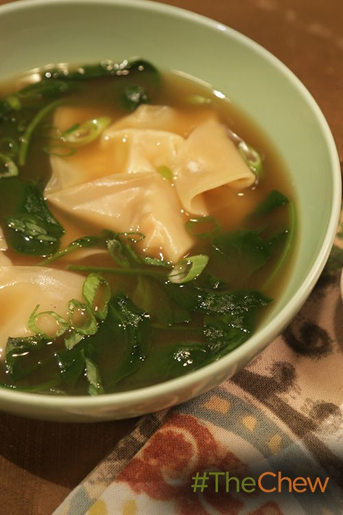 Leftover turkey from Thanksgiving? Use it in delicious Turkey Wonton Soup!