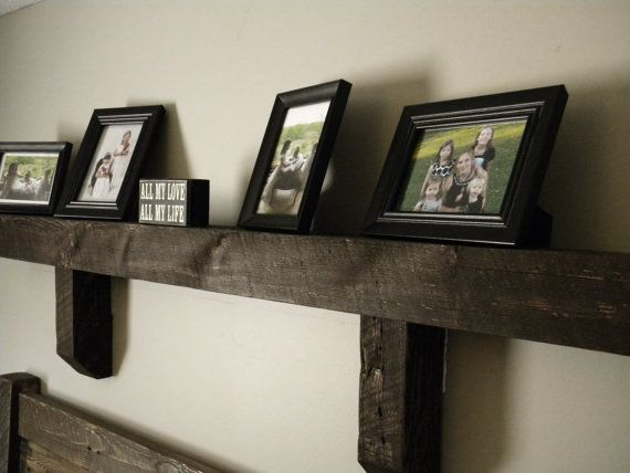 Mantle, Wall Shelf, Fireplace Mantle, Reclaimed Wood, Mantle Shelf, Barn Wood Mantle, Floating Shelf, on Etsy, $175.00