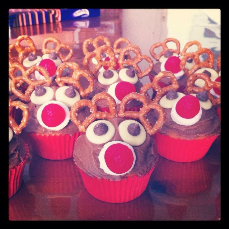Reindeer Cupcakes ❤️
