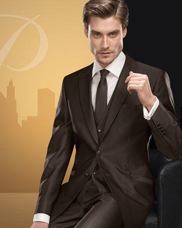Dark Brown Suit Combinations