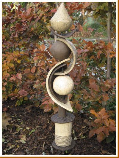 Tonstele - totem pour le jardin -