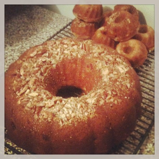 The Hummingbird Bundt Cake I made for Easter, also has a cream cheese icing or glaze recipe.  Photo by eriqua