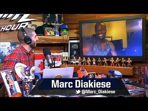 MMA Marc Diakiese Wants to Beat Up that 'F---ing Little Irish Wannabe' Paul Felder