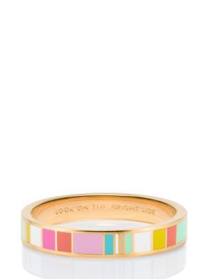 look on the bright side hinged idiom bangle - Kate Spade New York