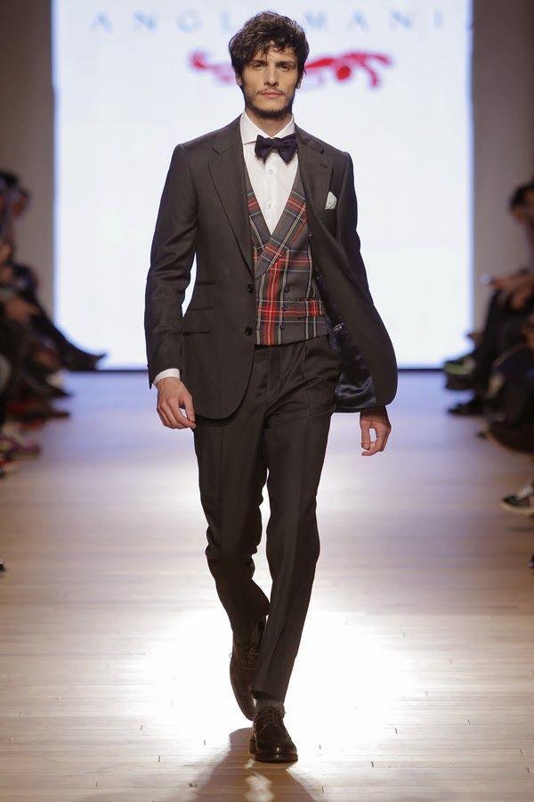 #Menswear #Trends Anglomania Fall Winter 2014 -2015 Otoño Invierno #Tendencias #Moda Hombre