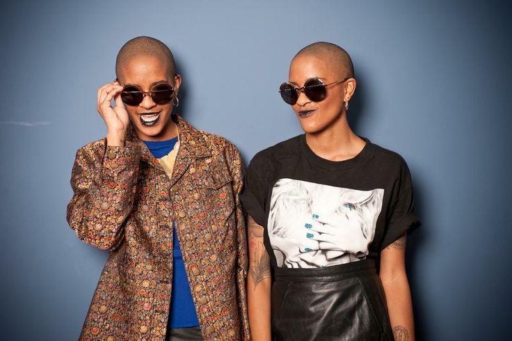 Las gafas avant garde de Coco & Breezy.