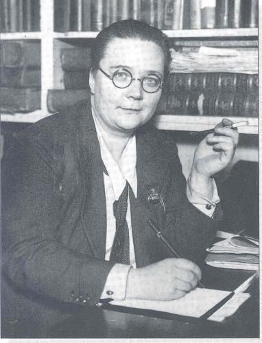 Dorothy Leigh Sayers (1893 - 1957), renowned English crime writer, poet, playwright, essayist, translator & Christian humanist.