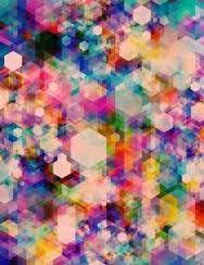 Image result for multi coloured geometric wallpaper