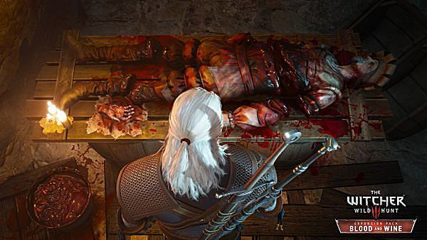 The Witcher 3: Blood and Wine map size revealedand it