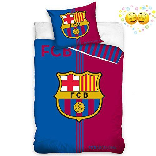 #checkitout  100% official FC #Barcelona merchandise A great bedding set for any fan! Features the iconic club crest and colours Duvet cover size: 140cm x 200cm...
