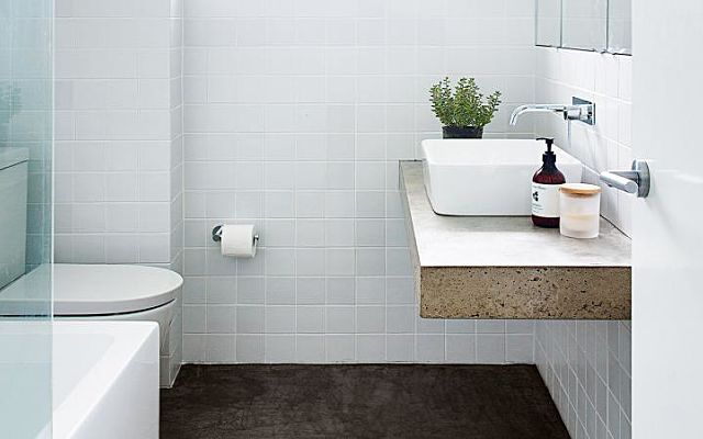 5 ways to inject style into a small bathroom
