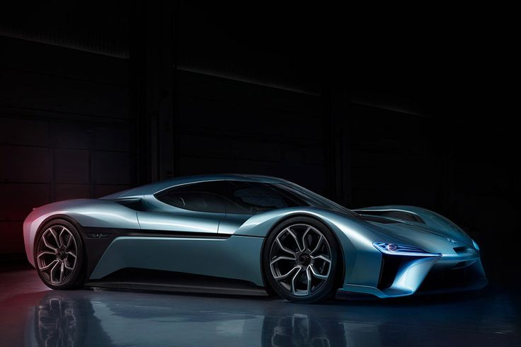 With a carbon fiber chassis that's 70% lighter than steel and an aerodynamic body that delivers insane grip the Nio EP9 Electric Supercar isn't just fast - it's one of the fastest EVs ever built. Its powertrain delivers one megawatt...