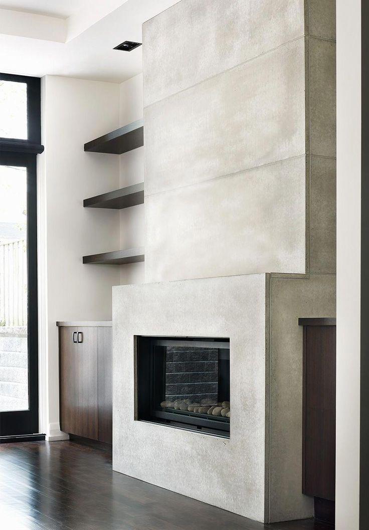 York Mill Residence 20ft Contemporary Concrete Tile