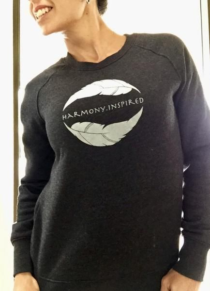 Harmony Inspired 'Back to Basic' Logo Jumper