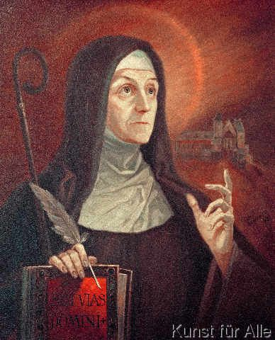 the life of hildegard von bingen Tip o'neill told us all politics is local, and i suppose that applies as well to a cloistered religious order as to a city vision: from the life of hildegard von bingen is about a remarkable 12th century woman named hildegard von bingen, who was cloistered with a benedictine order at a young .