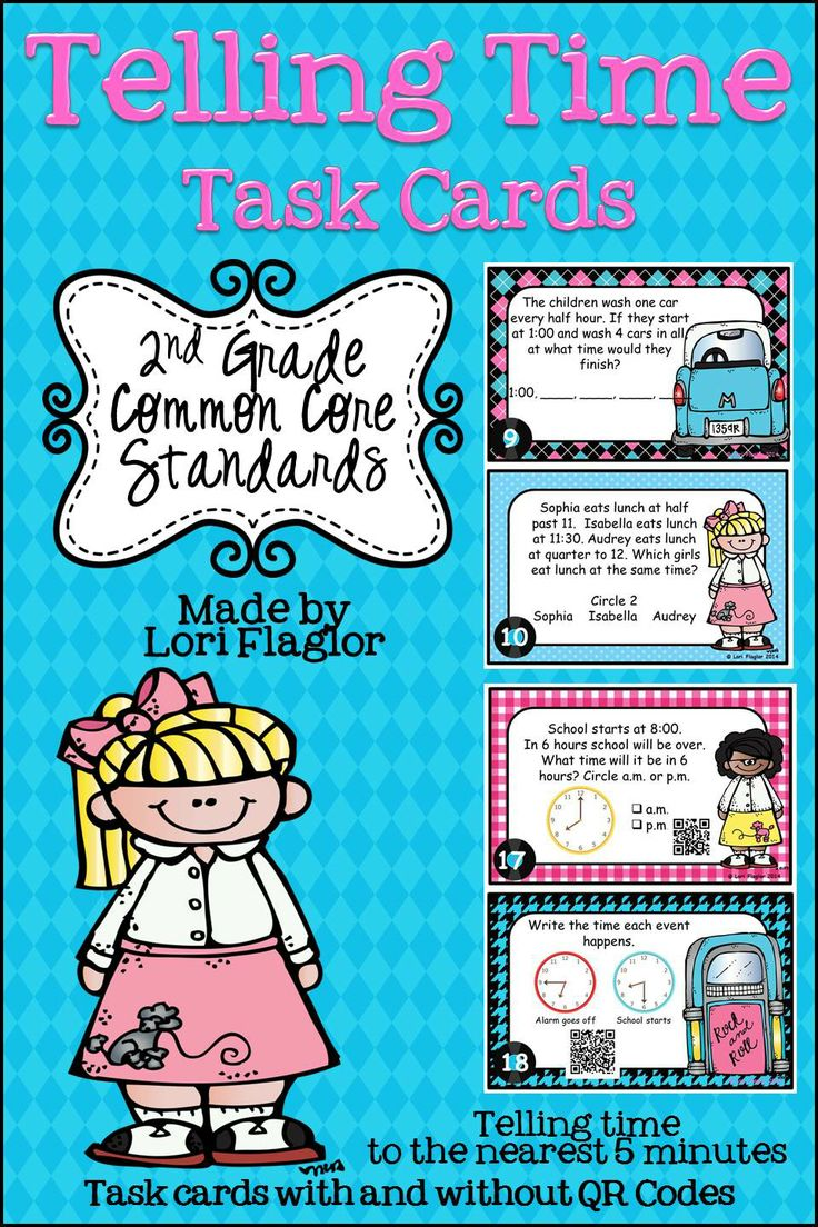 69 best 2nd/3rd Grade Math- Time images on Pinterest | The hours ...
